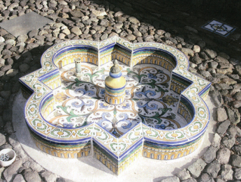 Restored Fountain